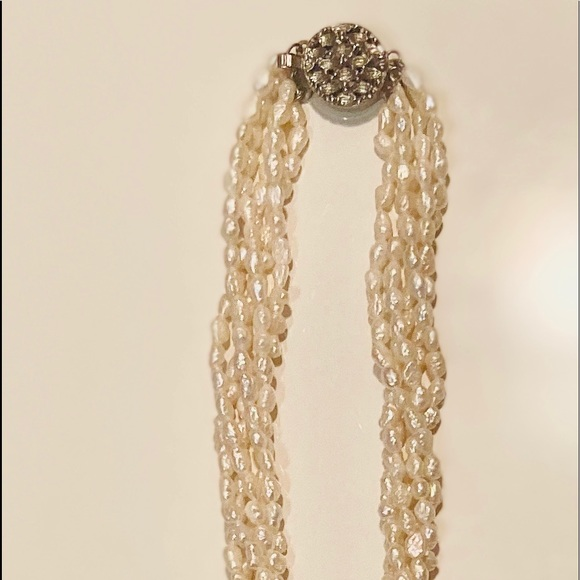 Fresh water pearl  2pc necklace and bracelet